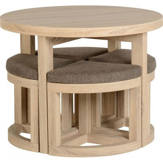 Where To Place Kitchen Dining Sets With Round Table