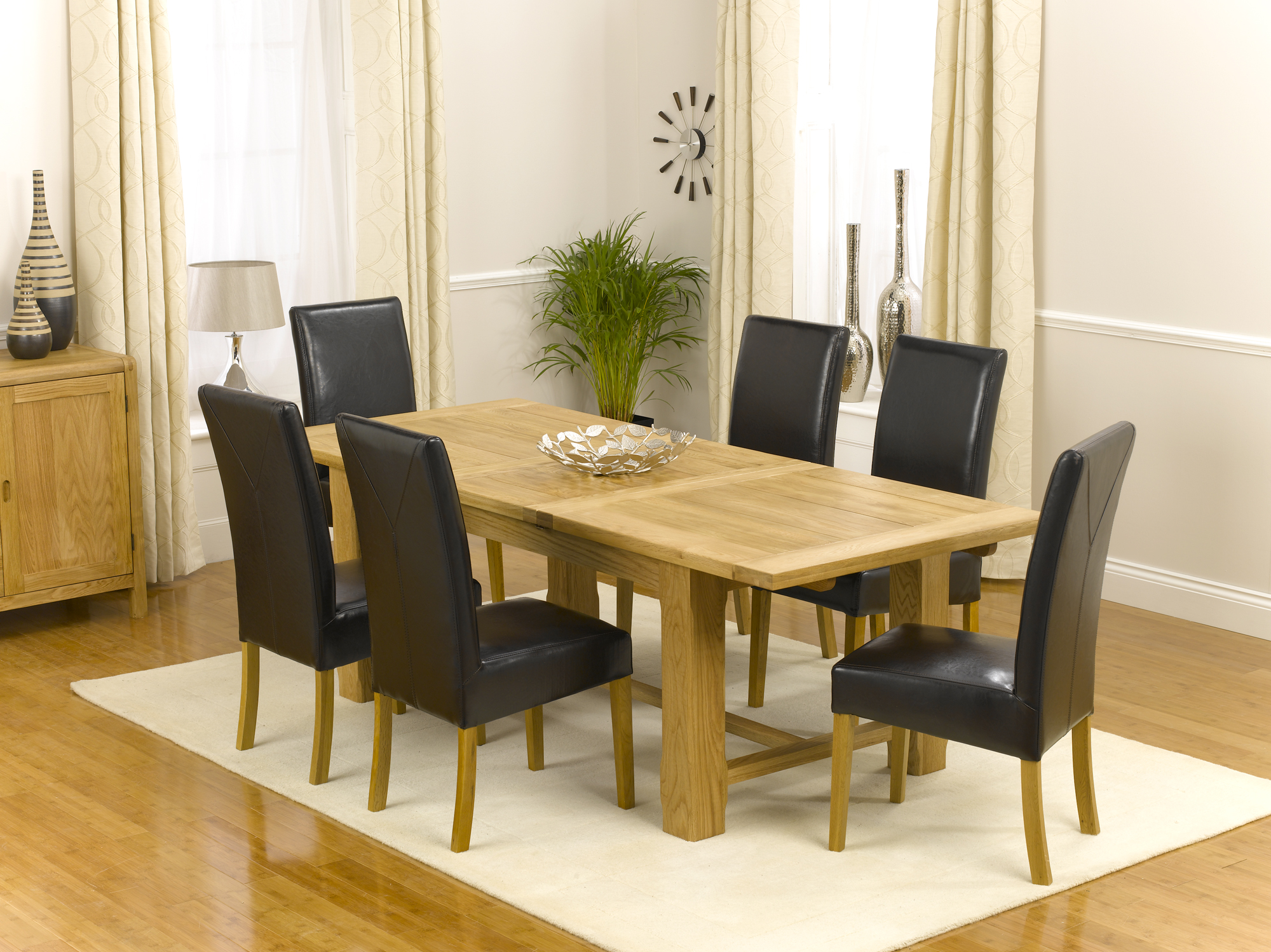 Dining Table Farmhouse Dining Table And 6 Chairs