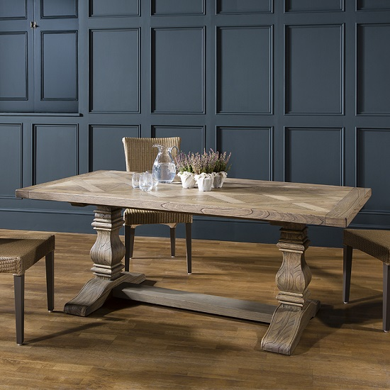 dining tables hamlet pedestal dining table rectangular in solid ash