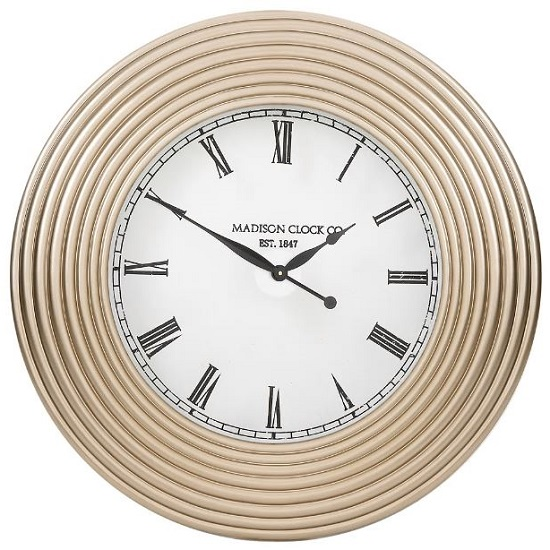 Vaughan Clock In Champagne Finish_1