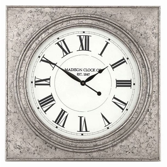 Roza Traditional Square Wall Clock_2
