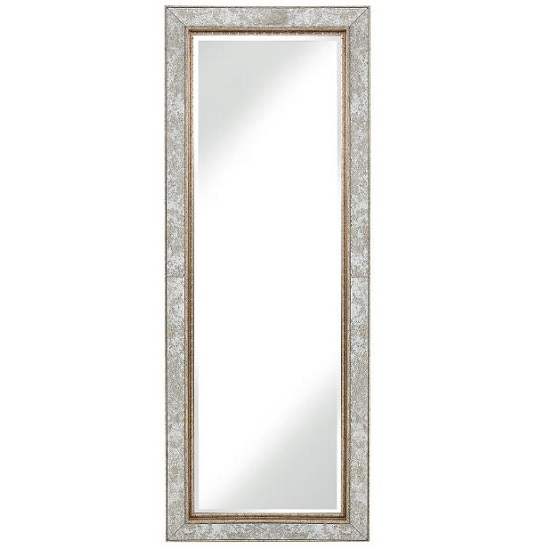 Gabriella Antique Floor Standing Mirror_1