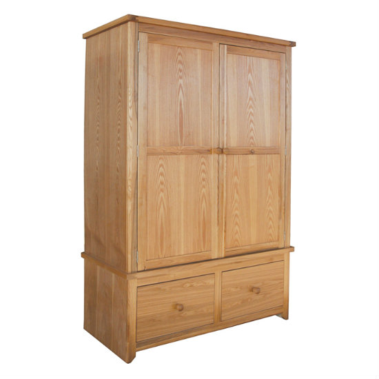 Hamilton 2 Door, 2 Drawer Wardrobe HM582