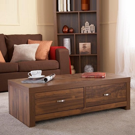 Halstead Coffee Table Rectangular In Warm Acacia Wood Effect_1