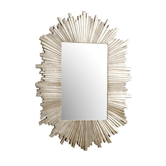 Hatfield Starburst Wall Mirror Rectangular In Dark Gold_2