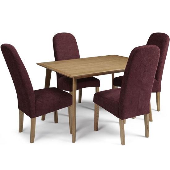 Chair dining oak
