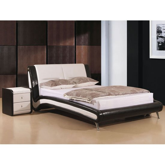 Holborn Black And White Bed