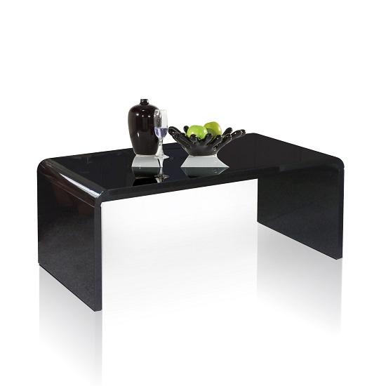 Toscana White High Gloss Coffee Table: High Gloss Coffee Tables