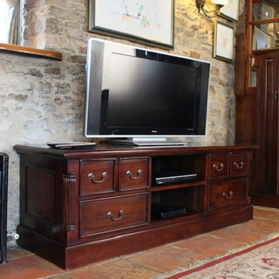 Decoration Ideas On TV Cabinet With Doors That Enclose TV: 5 ...