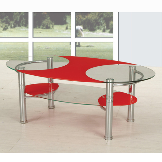 red glass coffee table shop for cheap tables and save online. Black Bedroom Furniture Sets. Home Design Ideas