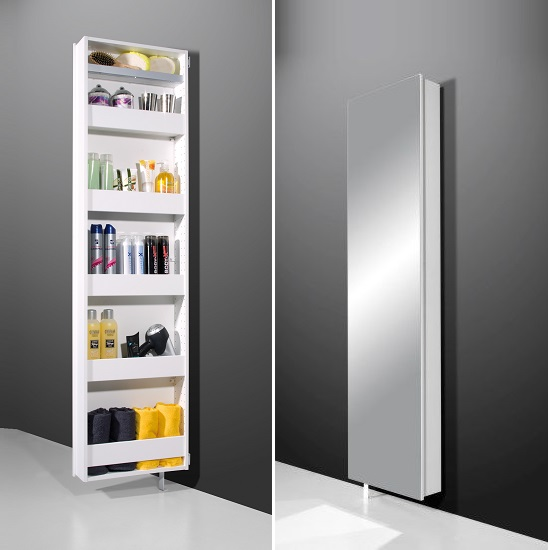 Floor standing cabinet storage cabinets 2400944 523 furn for Floor standing mirrored bathroom cabinet