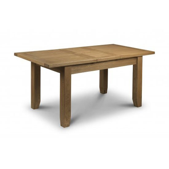 Raven Extendable Dining Table Rectangular In Oak