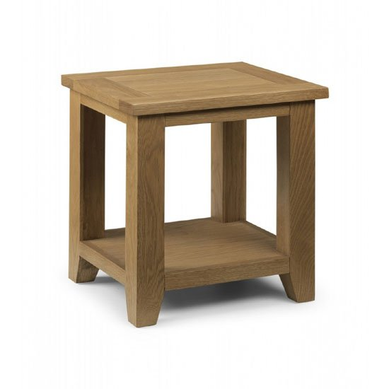 Read more about Raven wooden lamp table in oak finish