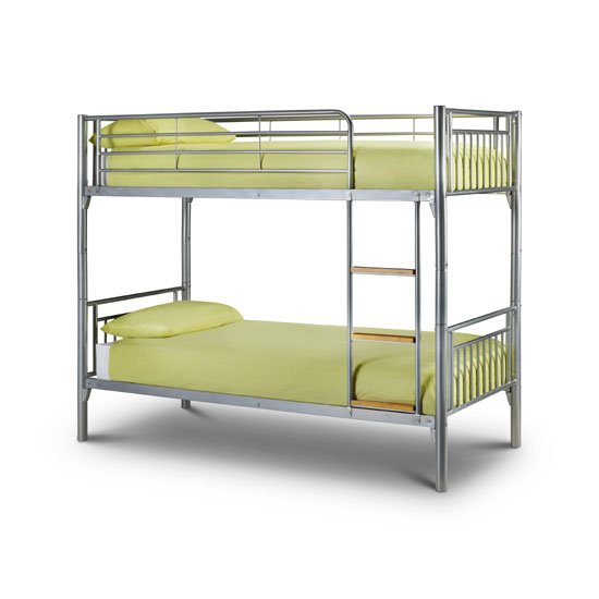Atlas Metal Finish Children Bunk Bed