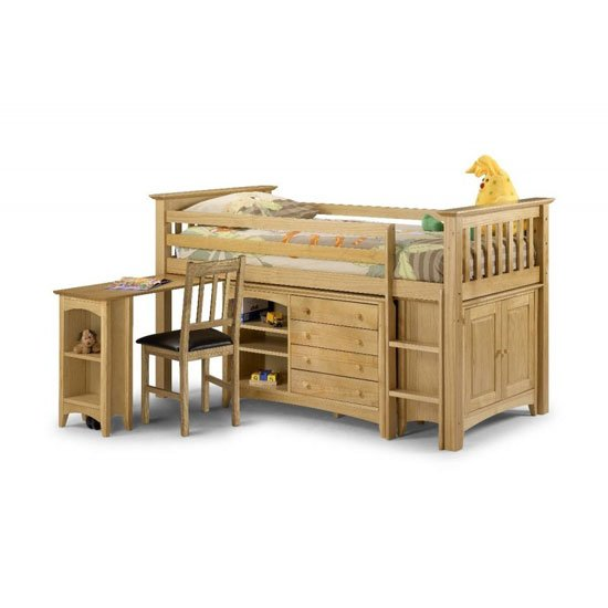 Barcelona Sleep Station Finished In Rich Antique Lacquered