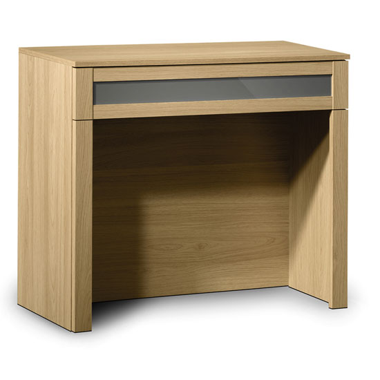 Read more about Simo light oak finish dressing table with 1 drawer