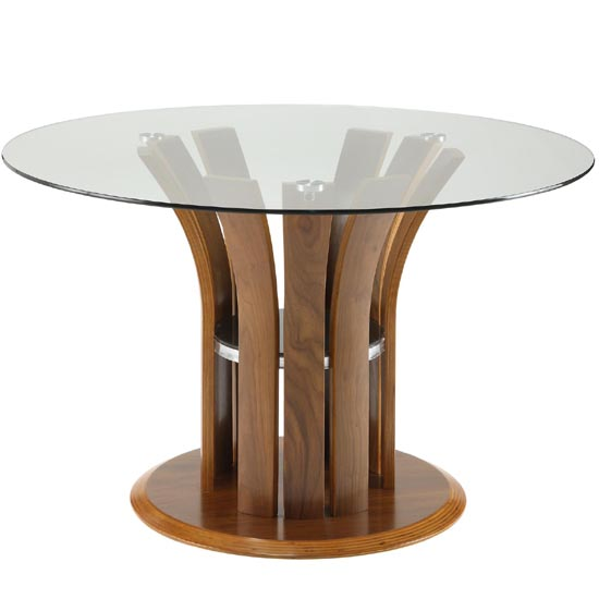 dining room furniture dining tables curve round clear glass dining