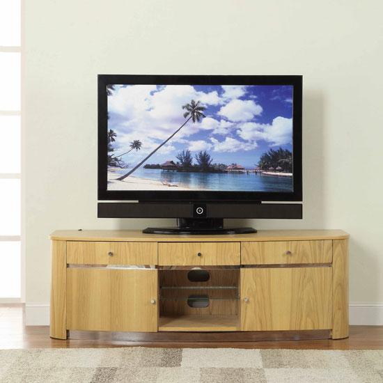JF605 MEDIA UNIT OAK - 5 Reasons To Choose In Favor Of Light Oak TV Cabinets