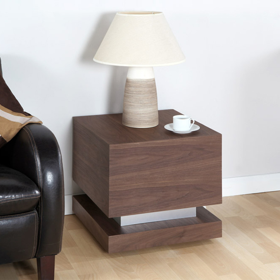 Buy cheap steel table lamp compare lighting prices for best uk deals grace lamp table in walnut and brushed stainless steel aloadofball Images