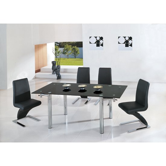 Java Ext Table 6g632blk - The Benefits of Glass Dining Table and How To Maintain Its Beauty