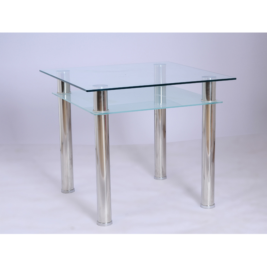 Furniture in fashion jayzee clear and frosted glass Glass dining table