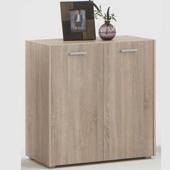 Johanna1 Canadian Oak Sideboard With 2 Doors - Sideboards ...