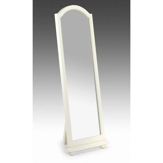 Josephine White Standing Bedroom Mirror