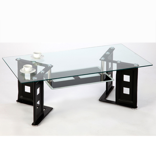 Leather coffee table Shop for cheap Furniture and Save  : Juliet coffee table black from www.pricechaser.co.uk size 550 x 550 jpeg 21kB