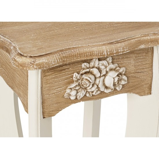 Julian Plant Stands In Cream And Distressed Wooden Effect_3
