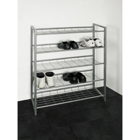 Jupp 5 Tier Metal Shoe Rack