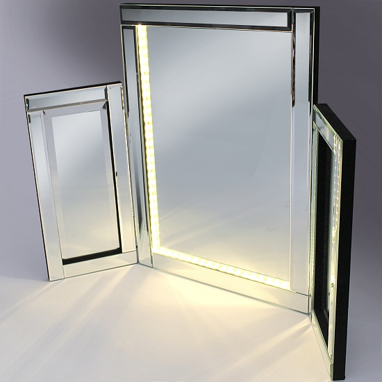 Venezuela Vanity Mirror With LED Lights Buy Modern  : LED20Warm20002 from www.furnitureinfashion.net size 550 x 550 jpeg 35kB