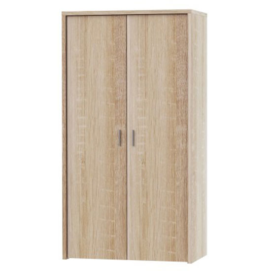 Ellington Wardrobe In Oak With 2 Doors_1