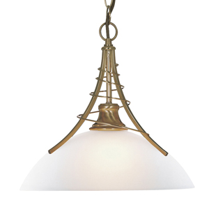 Linea Antique Brass Twist Pendant