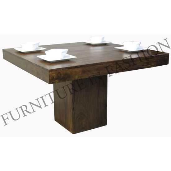 Dining Room Furniture Wooden Dining Tables Dakota Square Wooden Dining