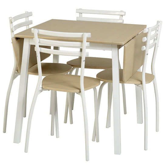 Langley  Dining Set - Pros and Cons of Drop Leaf Dining Sets