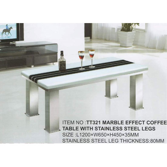 Marble Effect Coffee Table: Buy Stone, Marble Coffee Table, Furnitureinfashion UK