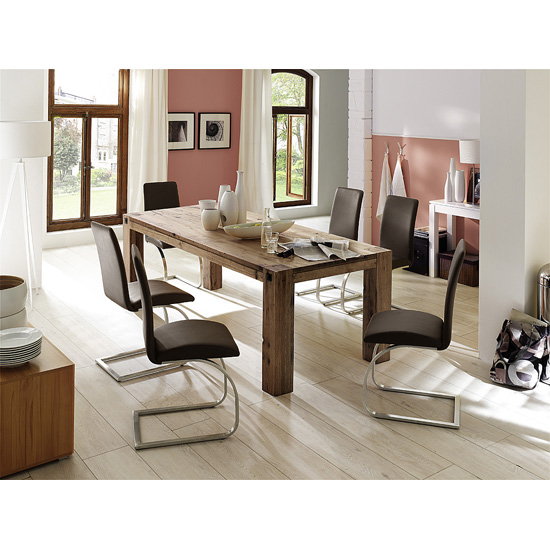Leeds%20EIV%20mit%20Maui%20B - Large Solid Oak Dining Table And The Interiors It Can Fit Into