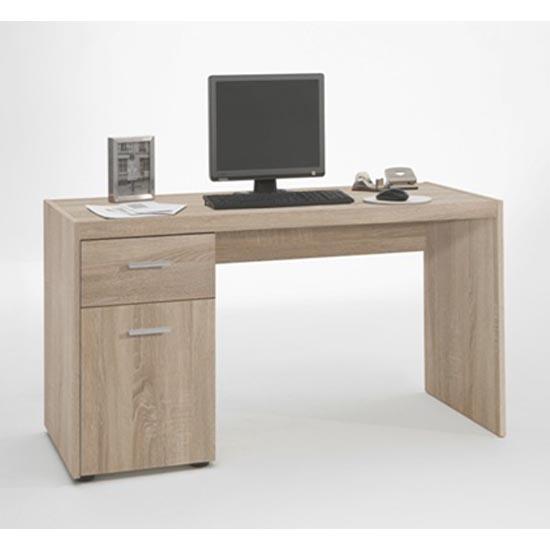 Photo of Lena canadian oak computer desk