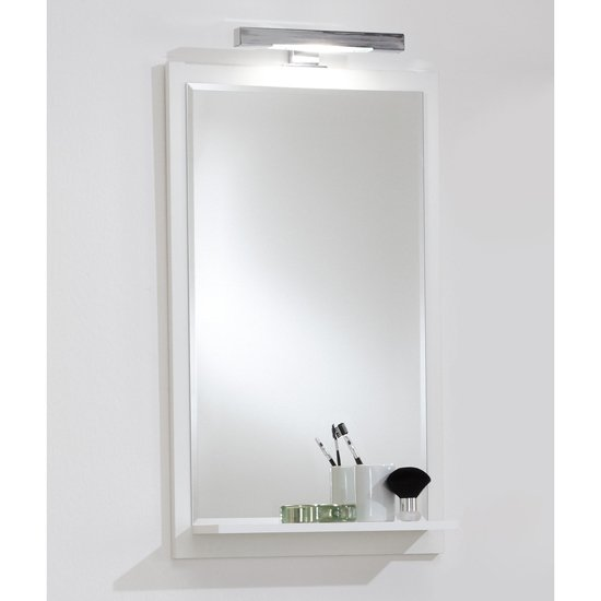 Bathroom heat light shop for cheap diy and save online for Cheap white mirror