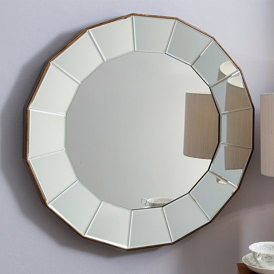 Round wall mirror shop for cheap house accessories and for Mirror gallery wall