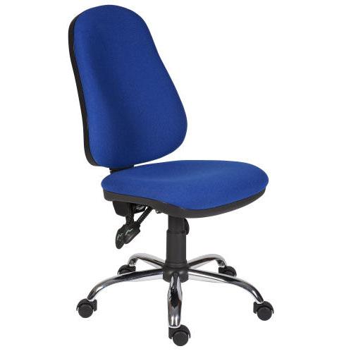 Logic Office Chair with Chrome Base