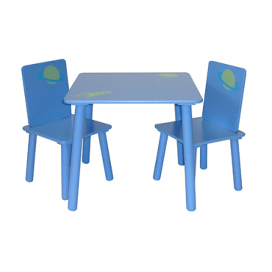 Lunar Table And 2 Chairs