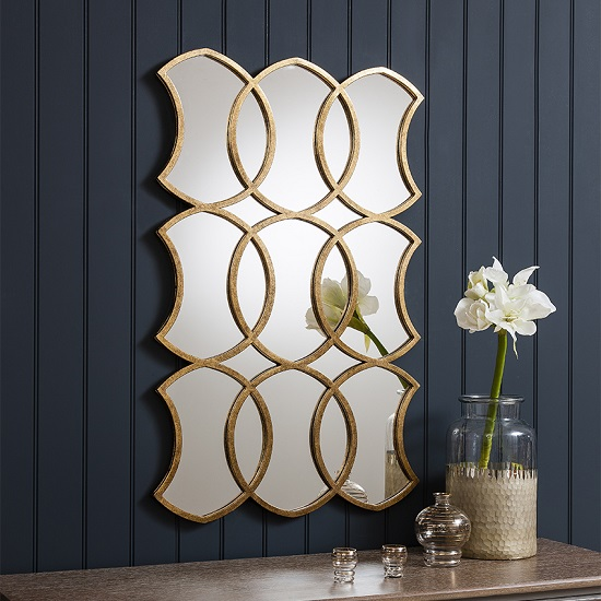 MARRAKESH Rectangle Mirror Gallery - 7 Styling Your Bedside Table Design Ideas For A Memorable Interior