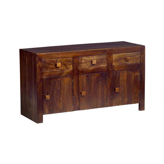 Mango wood large sideboard