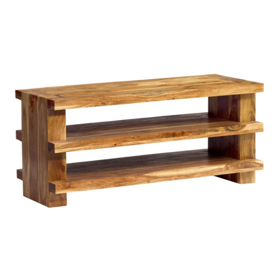Metro 3 shelf plasma wooden tv stands price comparison for Furniture in fashion