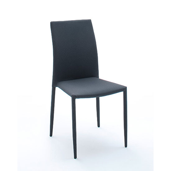 Dining room furniture dining chairs mila upholstered grey dining chair