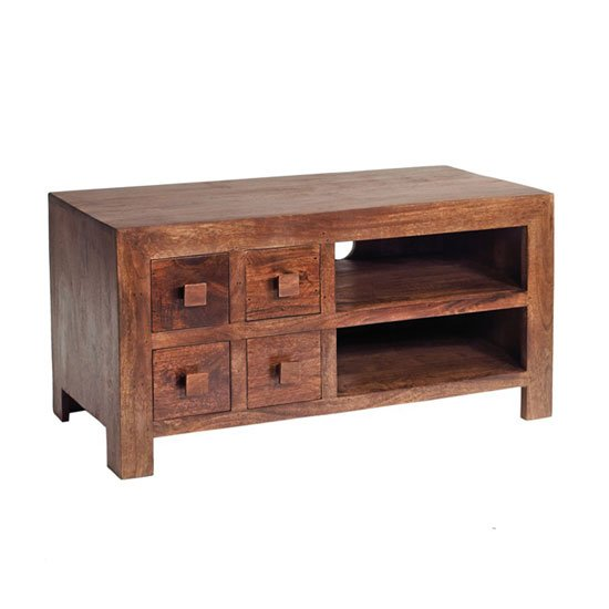 ML09 TV VIDEO CABINET - 10 Wood Shades Modern And Cool TV Stands