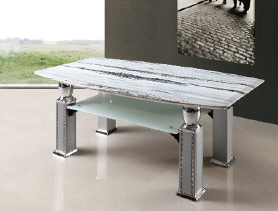 Get coffee tables with granite tops for adding style in your home