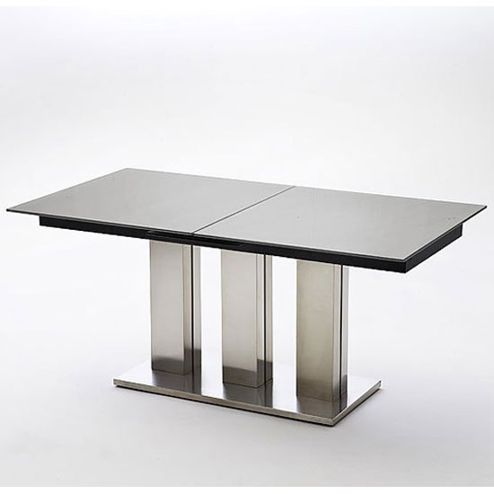 Extending glass dining table shop for cheap tables and for Extendable glass dining table