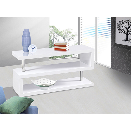 Miami TV Stand White